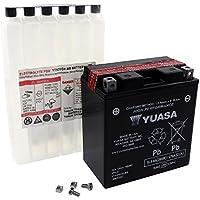 Battery YUASA - YTX20CH-BS maintenance-free for SUZUKI LT700 Twin Peaks 700 ccm Year of construction 04-