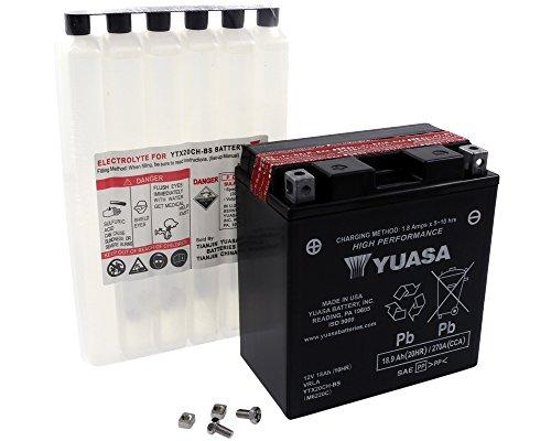 Batteria YUASA - YTX20CH-BS esente da manutenzione per MOTO GUZZI Breva, Griso 1100 ccm anno 05-06