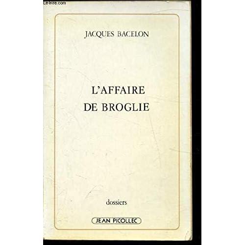 L'affaire de Broglie