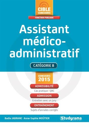 Concours assistant mdico-administratif