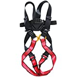 Newdoar Climbing HarnessNewdoar Children's Full Body Harness For Amusement Park & Rock Climbing ExpeditionSuitable For 4 To 10 Years Old Kids