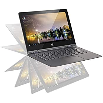 OYYU Computadoras portátiles con Pantalla táctil Windows Convertible FHD IPS con Pantalla táctil Windows 10 Business Flip laptops (13.3 Pulgadas, ...