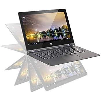 OYYU Computadoras portátiles con Pantalla táctil Windows Convertible FHD IPS con Pantalla táctil Windows 10 Business Flip laptops (13.3 Pulgadas, ...