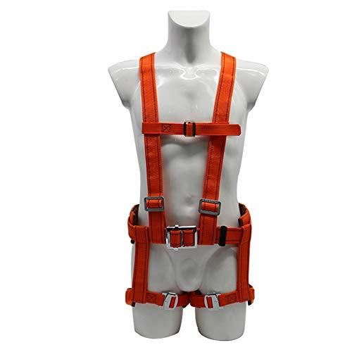 ZBHW Imbracatura da Montagna Arrampicata Completa per Il Corpo Imbracatura anticaduta Cintura di Sicurezza per Elettricista/Cintura Alta per Il Corpo di Alta Quota/Cintura per la Costruzione/Pol