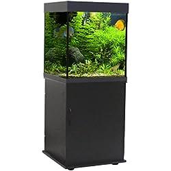 Wave Classic Cube Support Noir pour Aquariophilie 55 x 55 x 73 cm