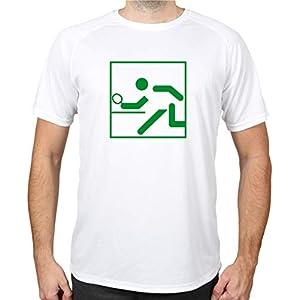 buXsbaum® Sport Performance T-Shirt Tischtennis Piktogramm