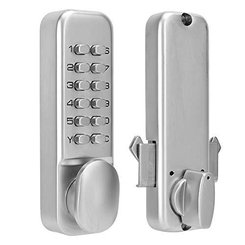 Digitales Türschloss, Schlüsselloses Mechanischem Codeschloss, 1-11 Digirt Kombination Türschloss für Garage/Hotel/Büro/Studio/ (Türschlösser Kombination)