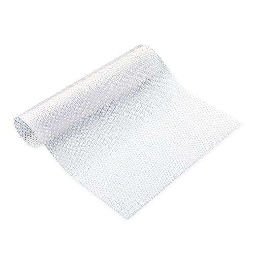 4er-Pack waschbare Kühlschrank-Matten können geschnitten werden Kühlschrank-Unterlagen, Schubladen, Tischsets weiß