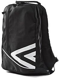Umbro Pro Mochila de Entrenamiento, Unisex, Pro Training Backpack, Negro/Blanco