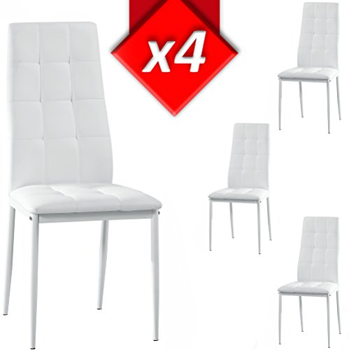 Venta-stock Set Silla 4 Uds. Blanco