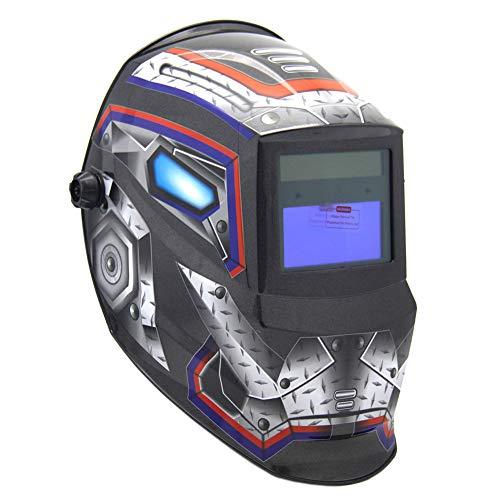 FFXENG Eléctrico Casco de Soldadura Automático Solar Energía Máscara de Fotosensible Máscara de Soldador Clase de eficiencia energética