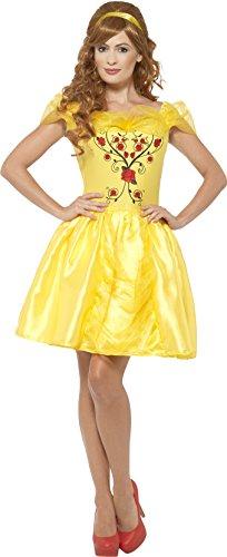 Smiffy's-Costume da principessa, donna, cavallo di bellezza, Donna, taglia: L