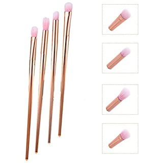 Awhao 4 Pcs Makeup Brushes Eye Set Blending Eyebrow Eyeliner Eye shadow Makeup Tools Cosmetic Brush