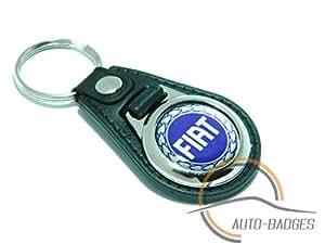 Fiat Punto Bravo Porte-clés en cuir artificiel