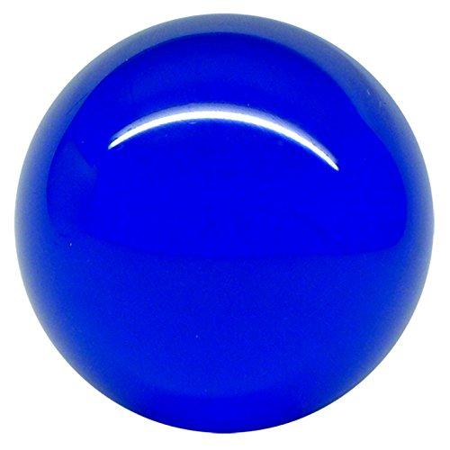 Acrílico bolas de contacto real 520g azul transparente de 90 mm y estuche protector