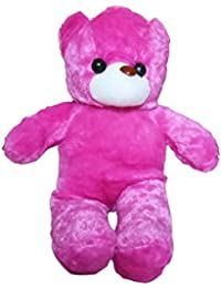 GIFTLOVERS Cute Pink Teddy Bear Soft Plush Toy - 15 Inch