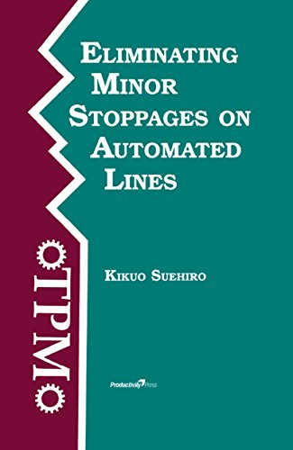 Eliminating Minor Stoppages on Automated Lines (Time-Tested Equipment Management Titles!)