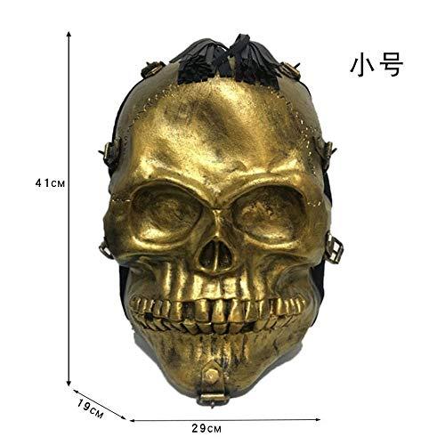 Großraumrucksack-Reiserucksackpersönlichkeit, Hauptbeutel Halloween-wesentliche goldene Trompete