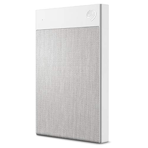 Seagate Backup Plus Ultra Touch, tragbare externe Festplatte, 1 TB, 2.5 Zoll, USB 3.0, PC & Mac, Weiss, ModelNr.: STHH1000402 -