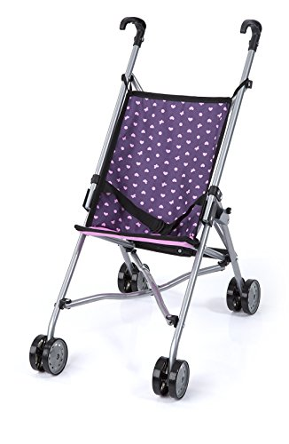 Bayer Design 30175AA Puppen-Buggy, Lila