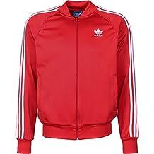 Adidas jacke herren rot