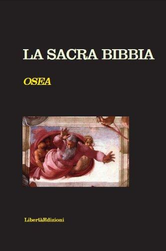 la-sacra-bibbia-osea-no-copyright-italian-edition
