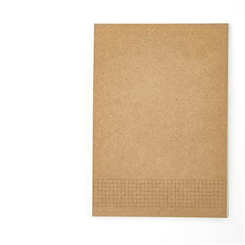 Leerseitenskizzen-Notizbuchbriefpapier 18K 32K 56K Papierberechnungspapier horizontale Linie dieses Quadrat 56K 56k, Bluetooth