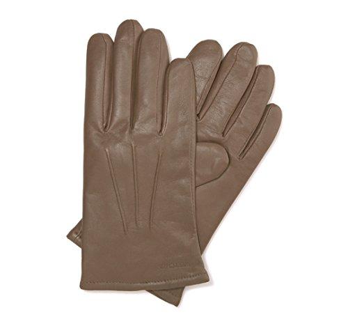 Preisvergleich Produktbild WITTCHEN Herren Lederhandschuhe Herrenhandschuhe, Beige, Größe:V, Naturleder, Leder, 44-6-638-0A-V