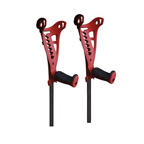 fdi | par de muletas access confort ultraligera y con empuñadura acolchada | regulables en altura (talla única)