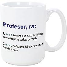 MUGFFINS Tazas Desayuno Originales de Profesiones para Regalar a Trabajadores - Tazas para Profesores Tazas con