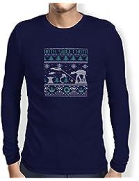 TEXLAB - Knitted Hoth Fight - Herren Langarm T-Shirt