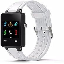 garmin vivoactive acetate correa de reloj barato Reloj banda de kit de Correa de pulsera de silicona quickfit para Garmin Vivoactive Acetate Sports GPS Smartwatch (Blanco)