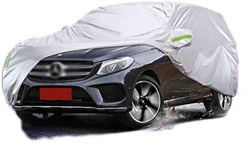 Autoabdeckungen Limousine Autoabdeckung Wasserdicht Regen Staub Sonne UV Allwetter Wasserdicht Schutz mit Baumwollreißverschluss für Automobile Indoor Outdoor Fit Limousine111 (Farbe: Mercedes-Benz G