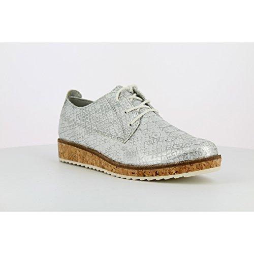MARCO TOZZI - Derbies Femmes MARCO TOZZI - 23727-28 - Chaussures / Chaussures à lacets - 36 au 41 silver