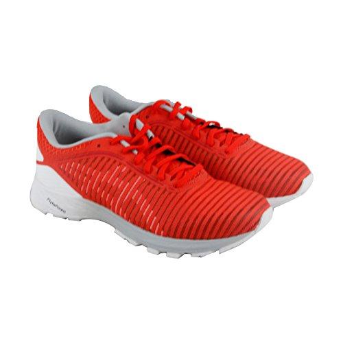 ASICS Dynaflyte 2 Shoe Men's Running 12.5 Cherry Tomato-White-Mid Grey