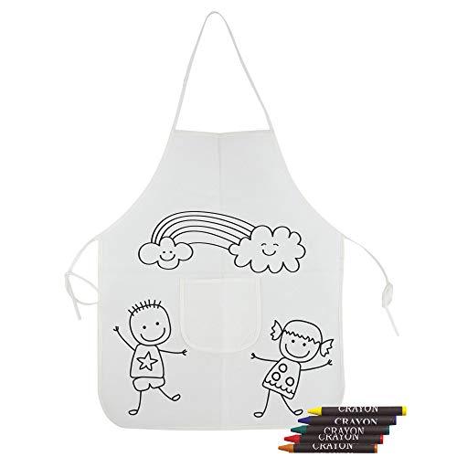 DISOK- Lote 30 Delantales Pintar niños - Labores