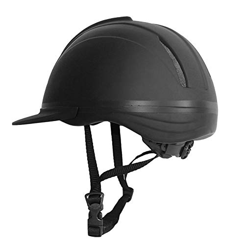 TARTIERY Équitation Casque De Protection, Bombe Casque D'équitation Noir pour Homme Femme, Casque...