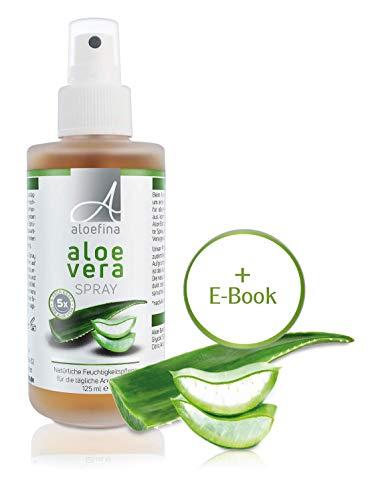 Aloe Vera Spray - 5-Fach-Konzentrat - für sensible Haut - dermatologisch getestet