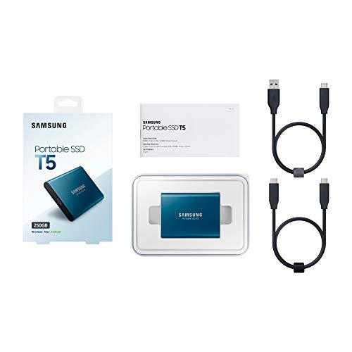 Samsung T5 Portable SSD - 250GB - USB 3.1 External SSD Image 5