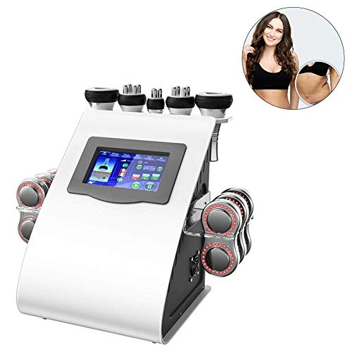 H.Yue Slimming Machine, RF Cavitation Fat Burning Slim Machine for Skin Slimming and Lifting Salon and Home Use Body Shaper Beauty Machine (UK) Cell Fusion
