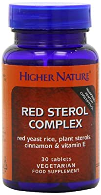 Higher Nature Red Sterol Complex Pack of 30 from Higher Nature