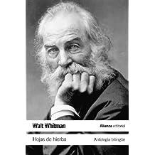 Hojas de hierba: Antología bilingüe (El Libro De Bolsillo - Literatura)