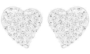Swarovski Damen-Ohrstecker Alana Clear Crystal in Rhodium 1121080