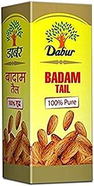 Dabur Badam Tail : 100% Pure | Sweet Almond Oil| Rich in Vitamin -E for Healthy Skin , Hair and Body - 100ml