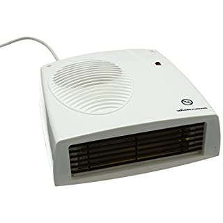 Winterwarm WWDF20N Ipx2 Rated Downflow Fan Heater, 2000 W, White