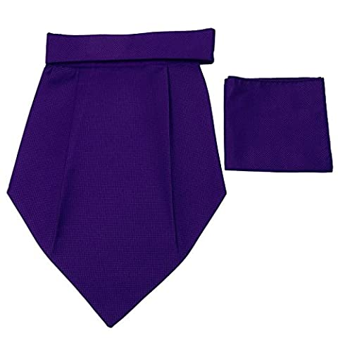 Wedding Party Foulard Cravates Jacquard Poly Satin Tuxedo Couture Cravat Ascot