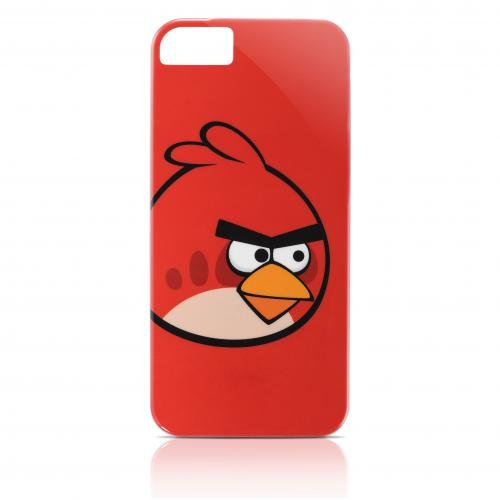 Gear4 ICAB501G Angry Birds Classic Red Bird Schutzhülle für Apple iPhone 5 rot Angry Birds Iphone