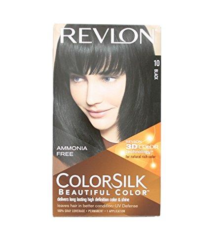 colorsilk teinture 10 negro - Coloration Revlon