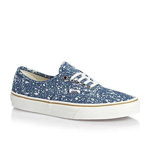 Vans U Authentic, Baskets Basses Mixte Adulte Bleu - Azul