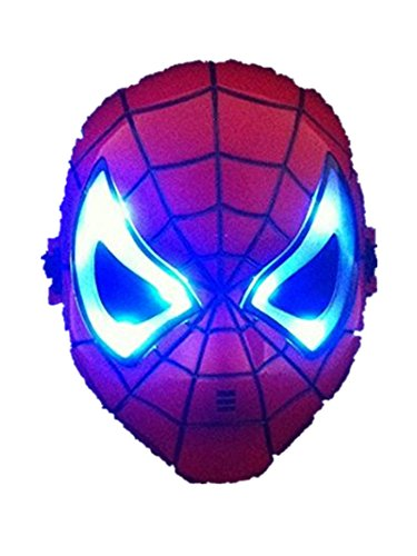Spider-Man-Maske Halloween-Party-Tag der Kinder-Cartoon führte Masken